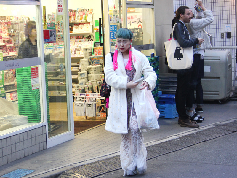 Cosplay girl in Harajuku