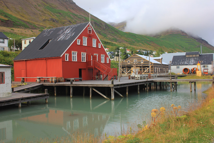 Siglufjordur fishing village in North Iceland - Travel itinerary for Icelandic road trip.