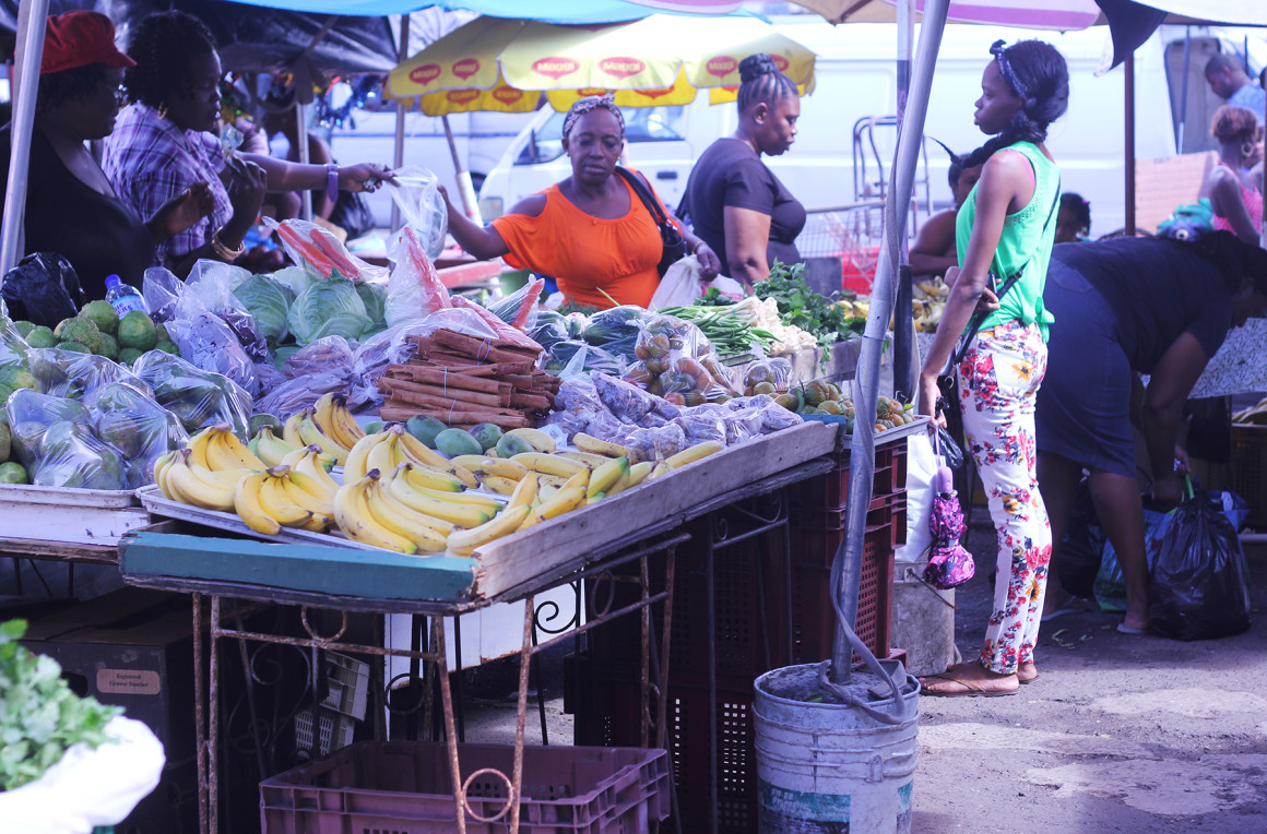 Castries Food Market
