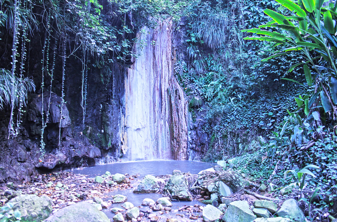 Diamond Waterfall, St Lucia