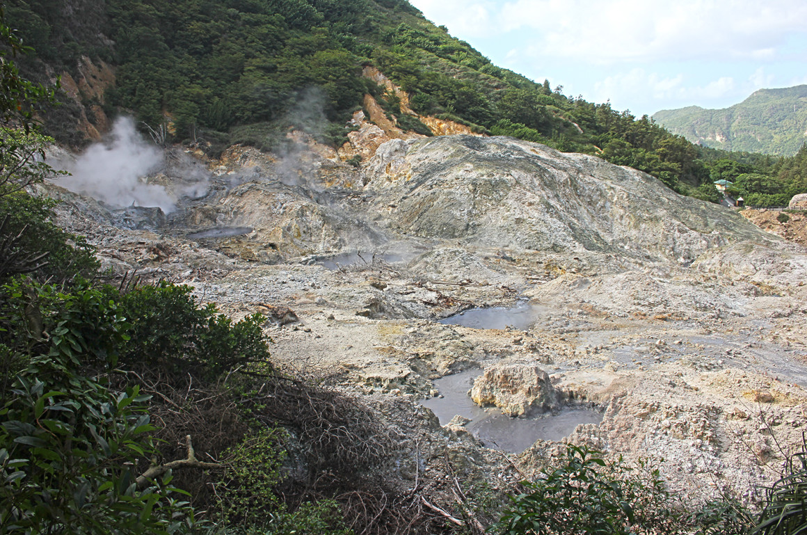 Sulphur Springs in St Lucia