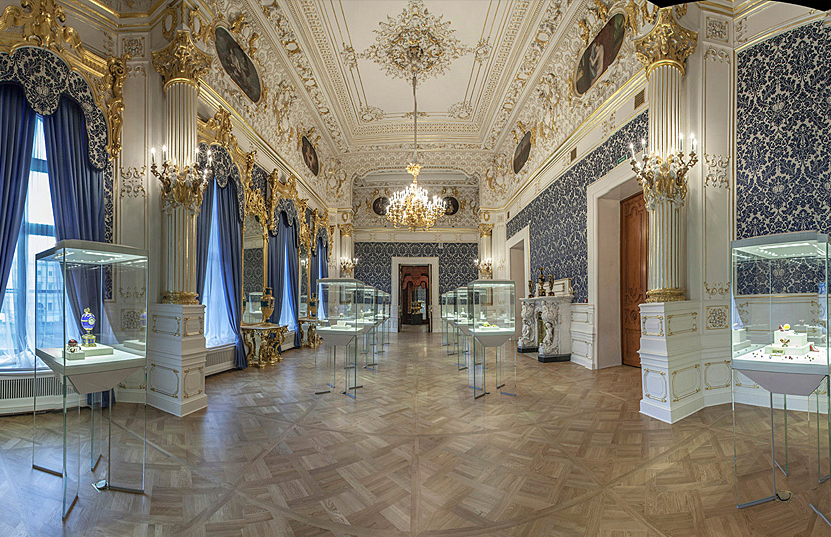 Faberge Museum - explore the art in St Peterburg