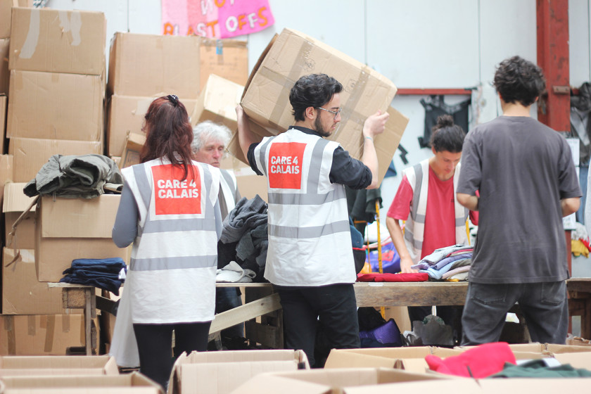 volunteering at Care4Calais during refugee crisis