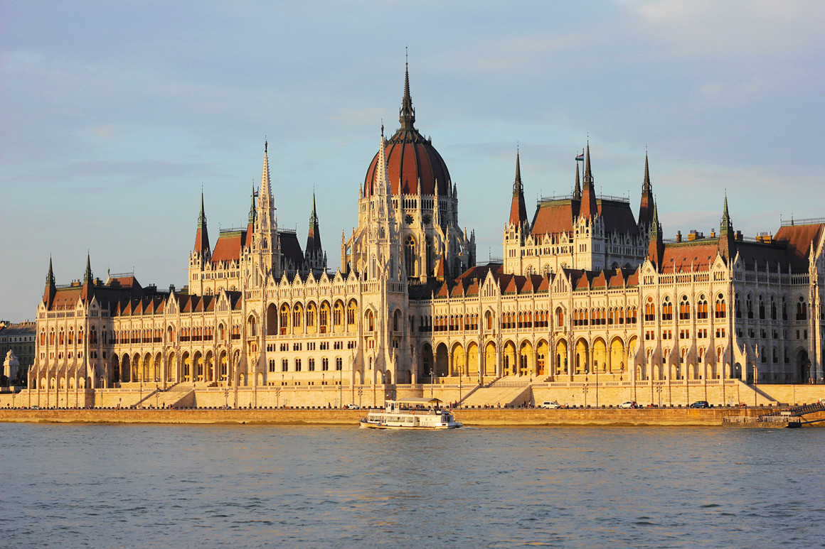 Budapest Parliament Building - Getting the train from Budapest - Bratislava - Vienna