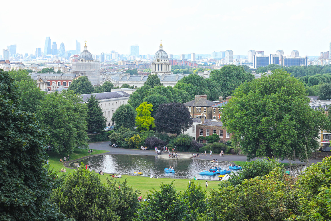 Which are the best parks in London? (Photo of Greenwich Park)