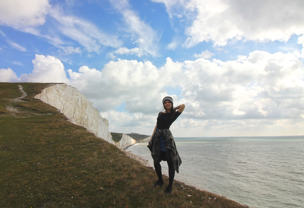 Walking from Beachy Head to Seven Sisters
