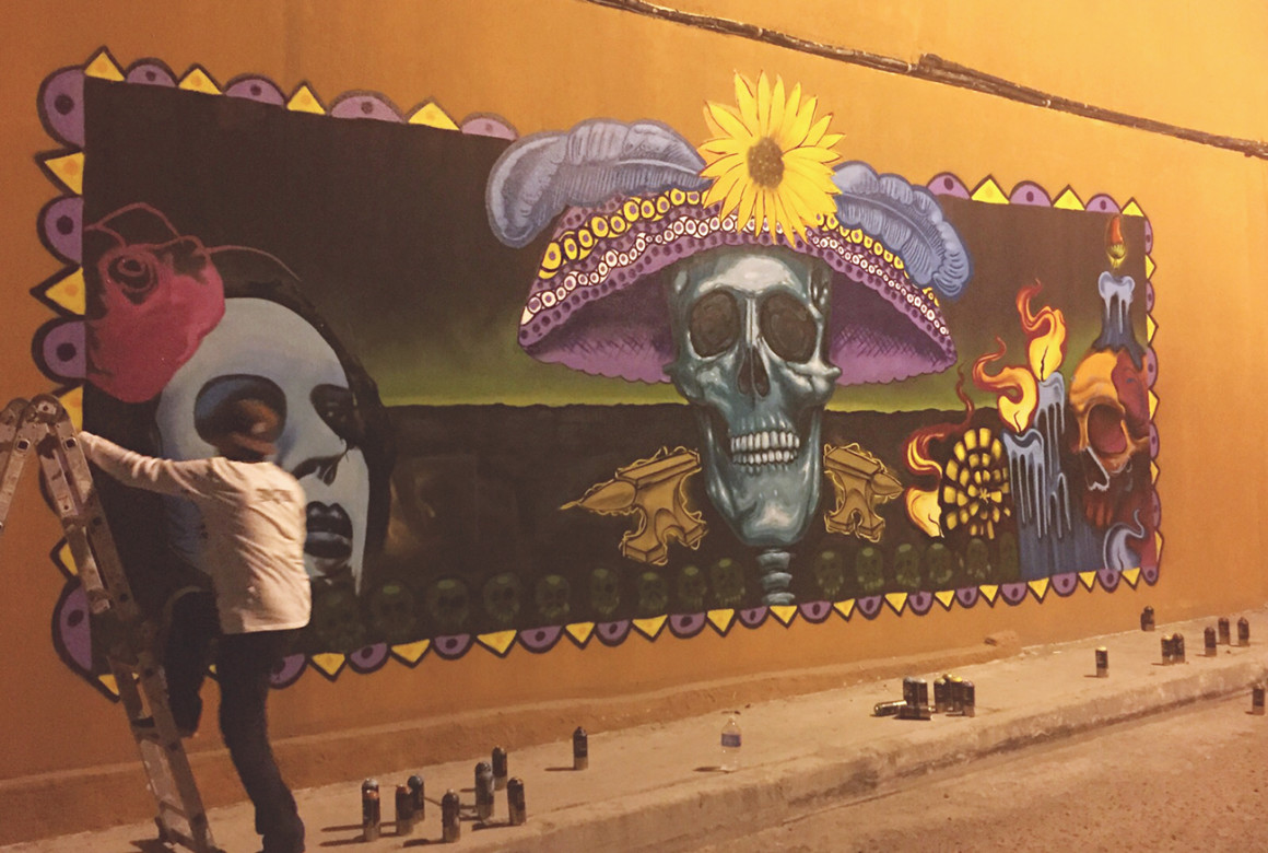 Discover street art - things to do in Mexico City