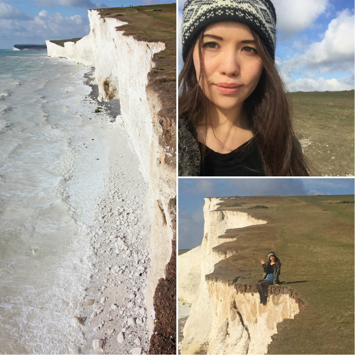 The Chalk Cliffs at Seven Sisters, England