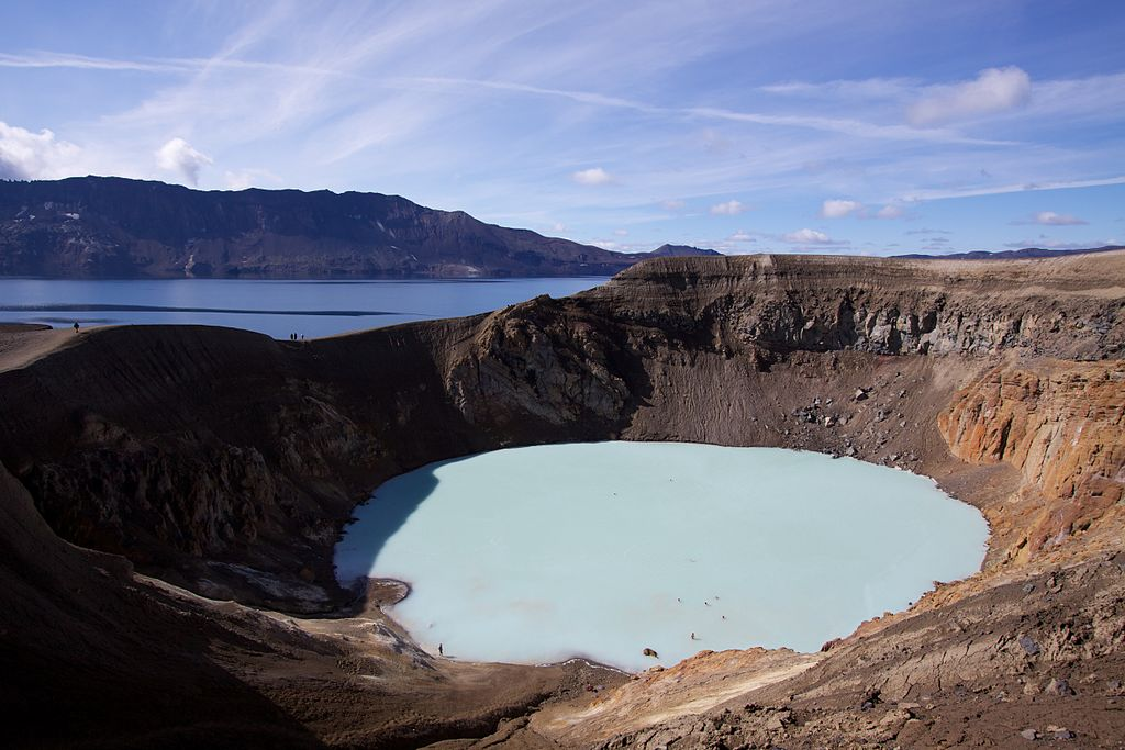 Things to do in North Iceland - soak in Askja