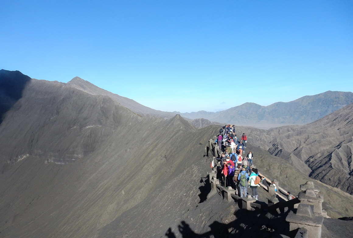 How to climb Mount Bromo in Indonesia