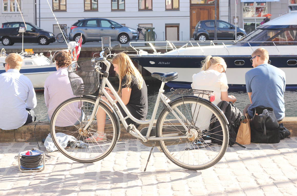 Hiring a bike in Copenhagen