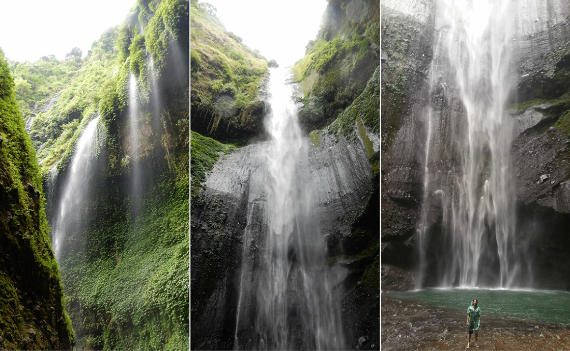 Madikarapuri waterfalls near Mount Bromo