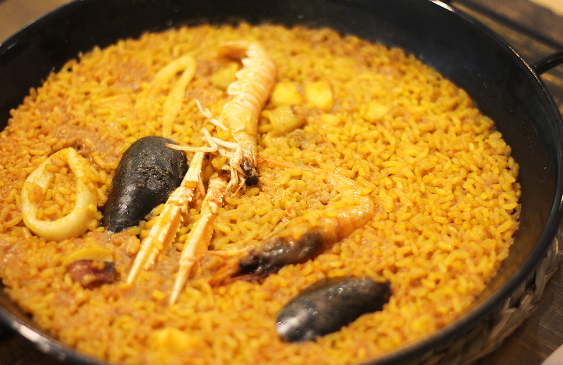 Everyone has to try paella whilst in Valencia!