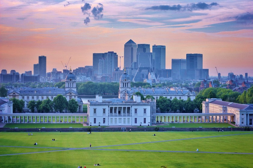 London - one of the most romantic cities in Europe