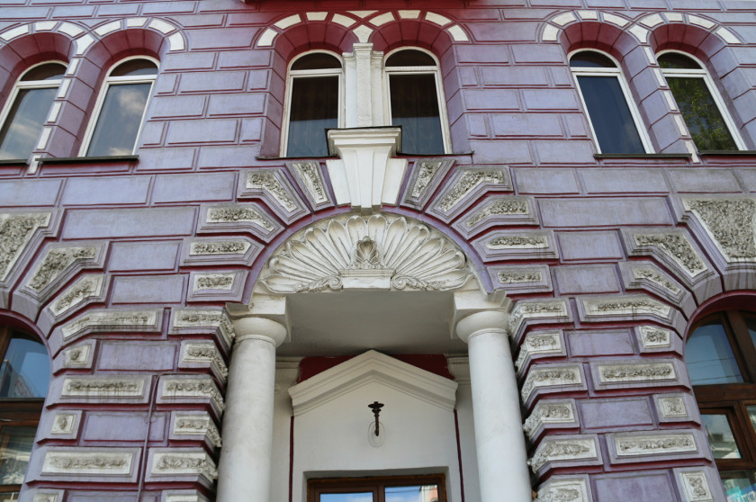 Architecture in Irkutsk - European style
