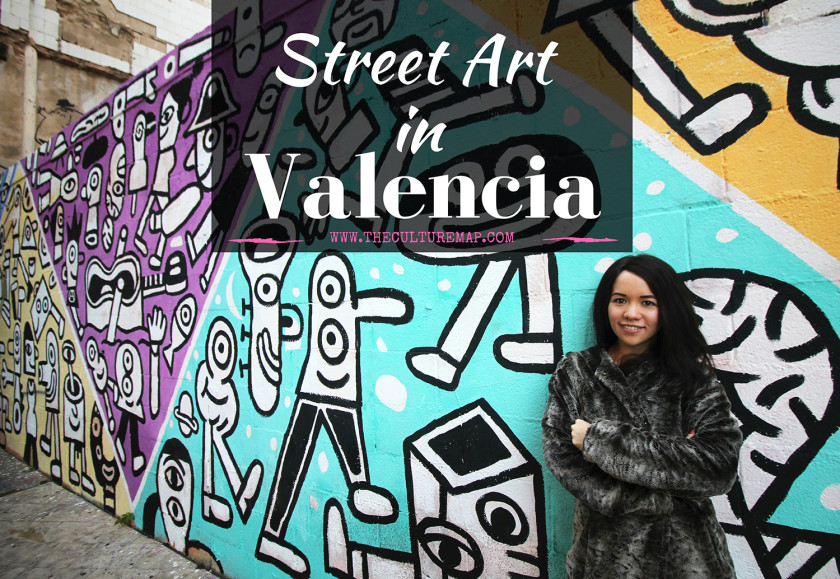 Street art in Valencia, Spain. A small guide.
