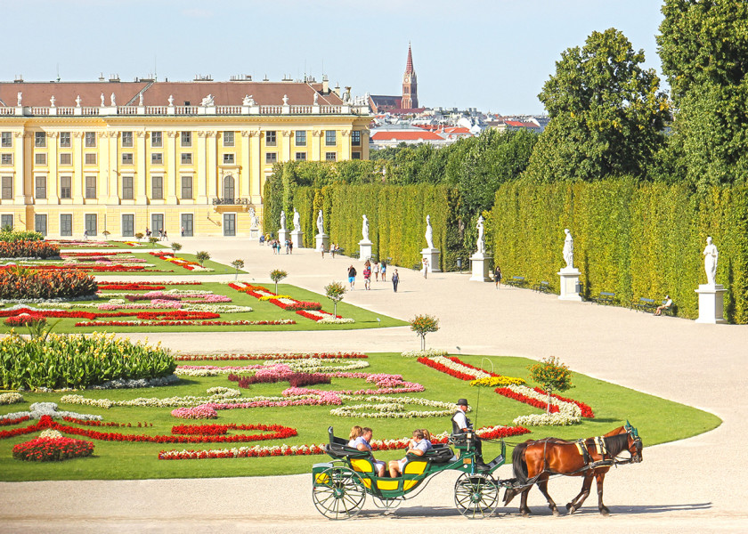 Vienna - one of Europe's most romantic cities.