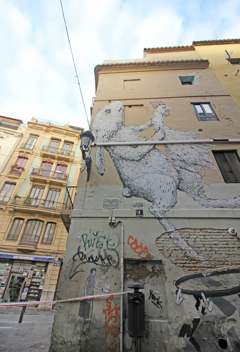 Street art guide of Valencia