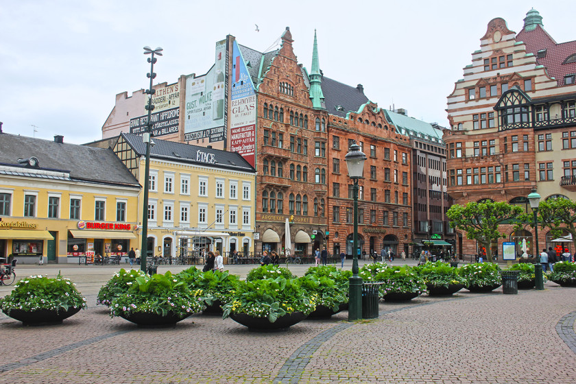 Sodergatan in Malmo - the main square