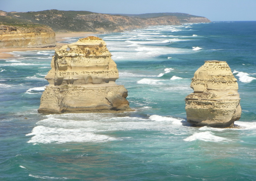 Where to see penguins: at the 12 apostles in Australia