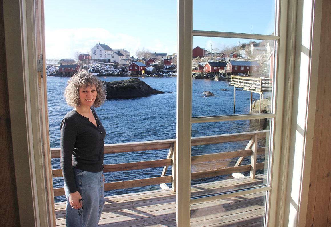 Suzel from Scandinavia Only exploring Nusfjord and the Lofoten Islands