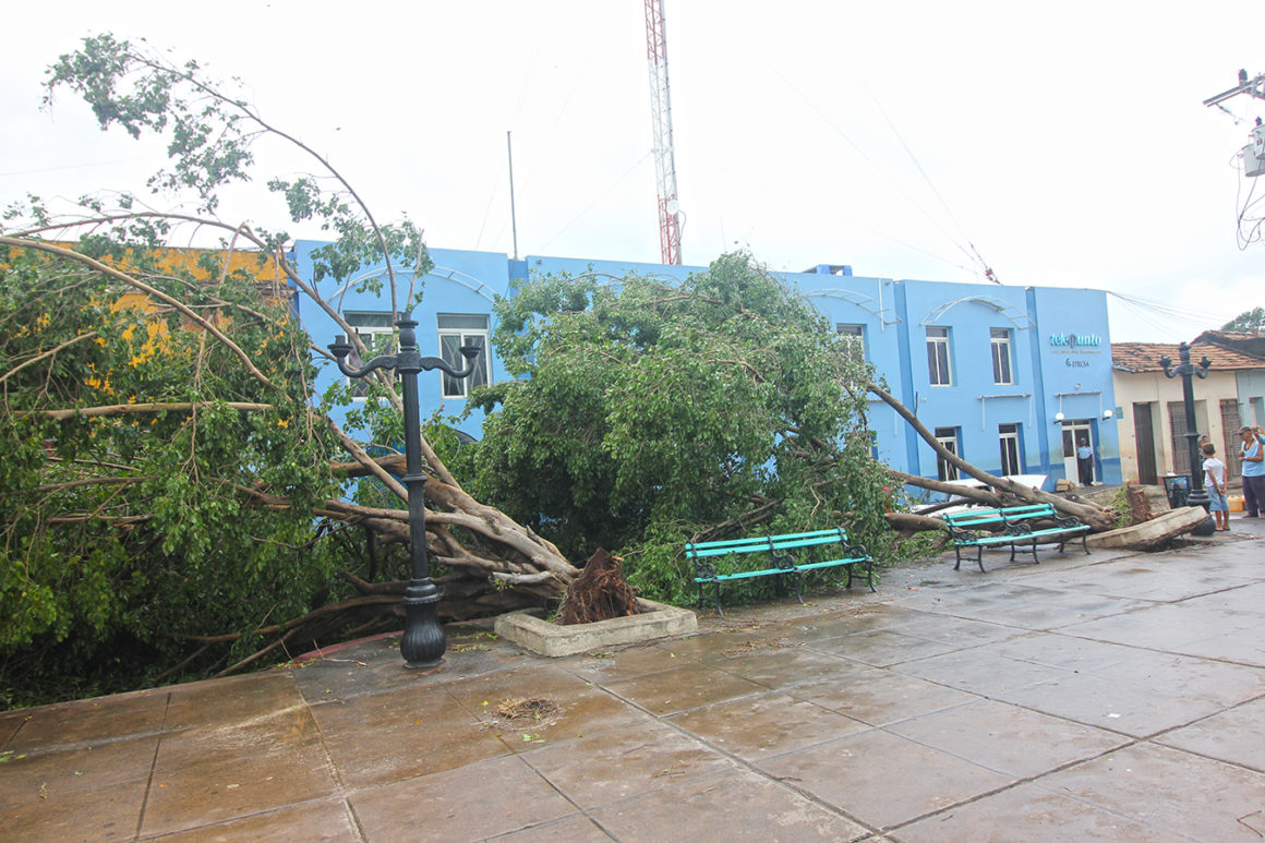 Damage in Cuba from Hurricane Irma