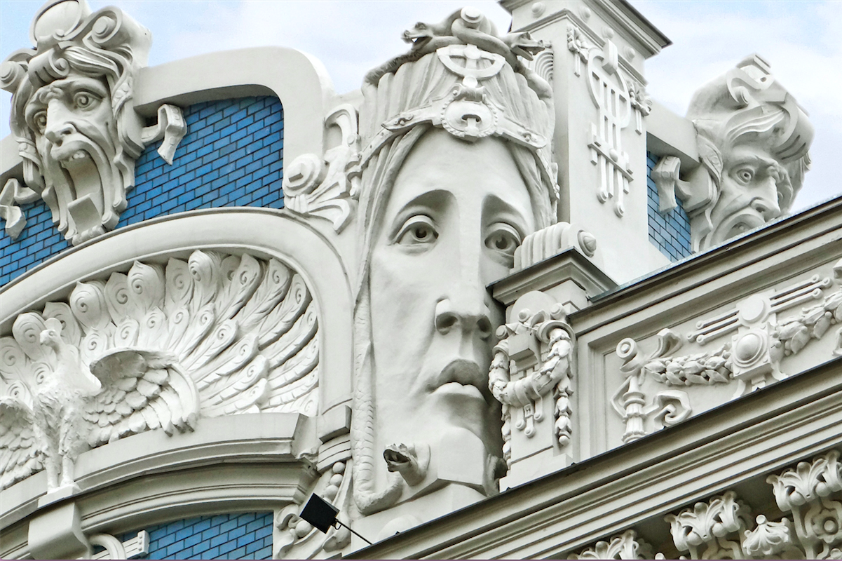 art nouveau architecture in riga where to find it the culture map. Black Bedroom Furniture Sets. Home Design Ideas