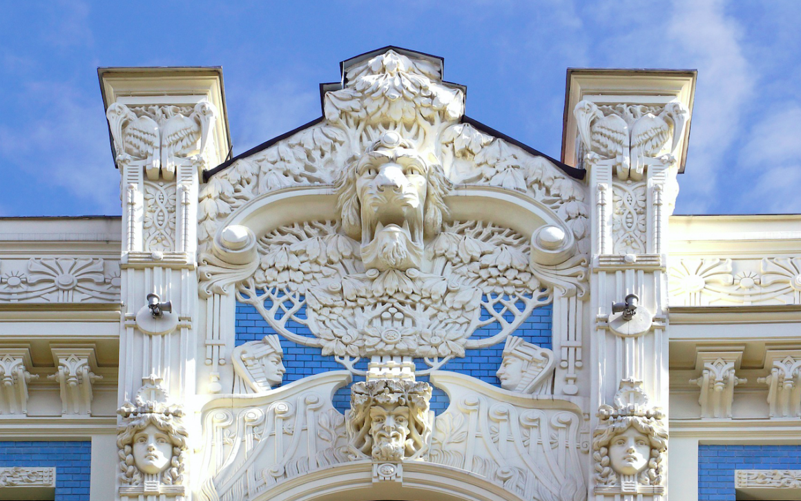 Where to find Art Nouveau architecture in Riga, Latvia