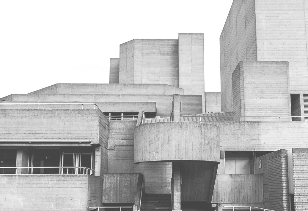 Brutalist architecture in London - The Hayward Gallery