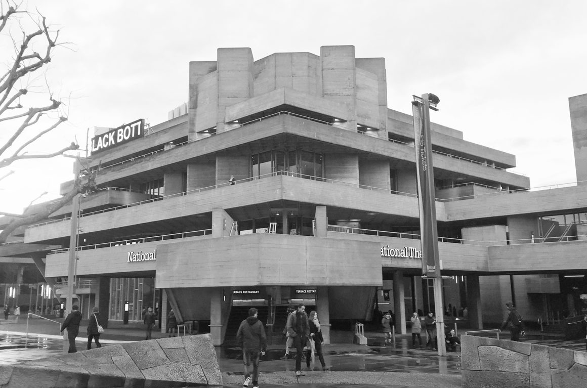 National Theatre London - Where to find brutalist architecture in London