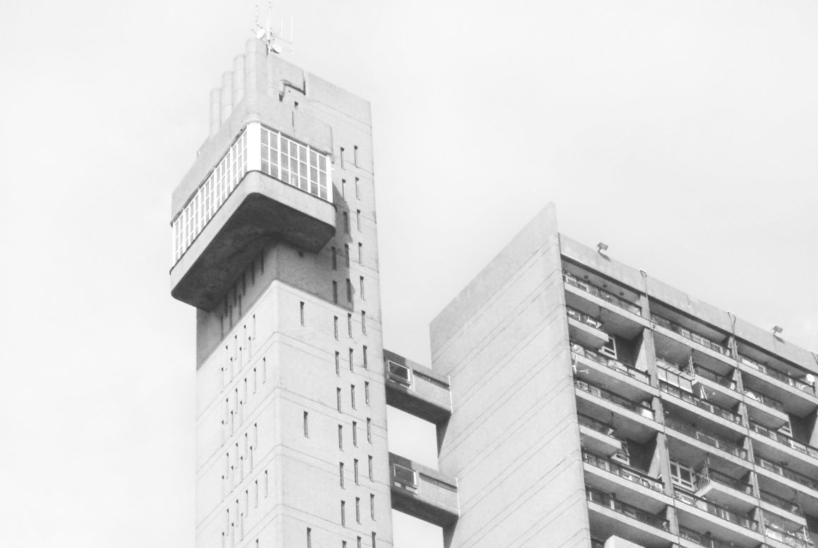 Trellick Towers - Brutalist architecture in London