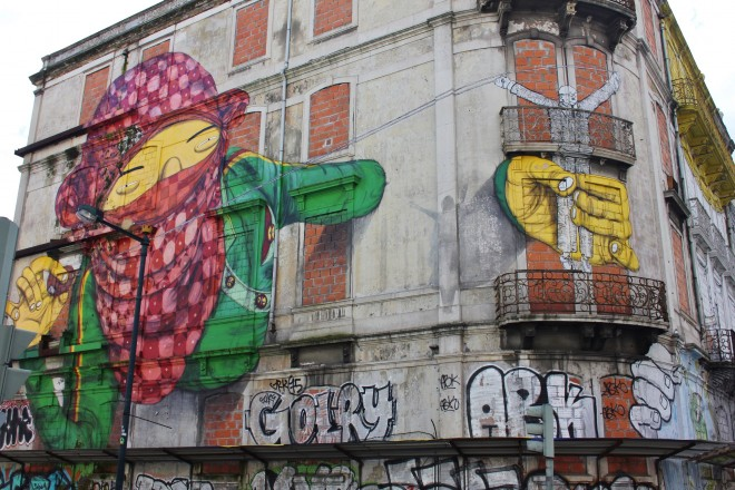 Italian Boy Name: Os Gemeos, Lisbon, Street Art, Graffiti