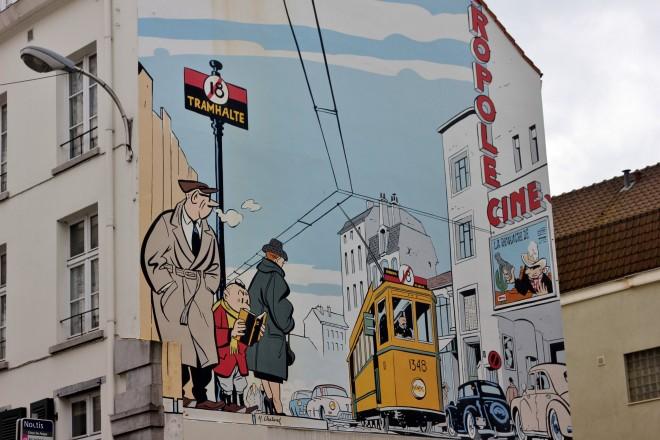 Italian Boy Name: Street-art-mural-brussels